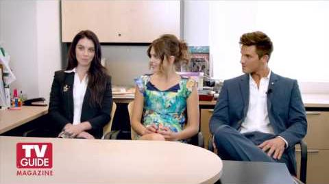 Reign Star-Crossed! Adelaide Kane, Aimee Teegarden, and Matt Lanter confess all!