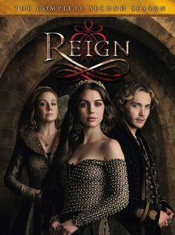 Reign S2 DVD Cover