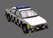 Civilian Police Cruiser British