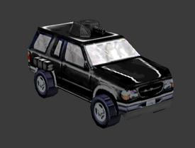 Mafia Ghost SUV