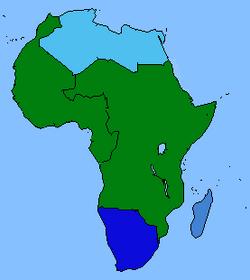 Africa Map (GLA-Insurgency)