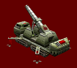 Chinese Flame Cannon Deployed