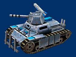 Militia Scorpion Tank