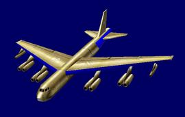 American B-52 Stratofortress