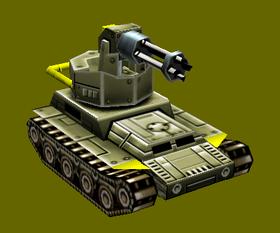 Civilian Slicer Gatling Tank