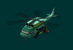 New Andes Skycrane Humvee