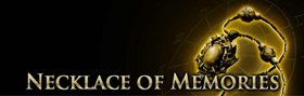 Necklace of Memories Page Banner