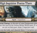 High Inquisitor Praetus Tharn