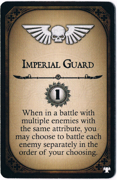 Imperial Guard Champion