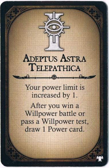 Adeptus Astra Telepathica Champion