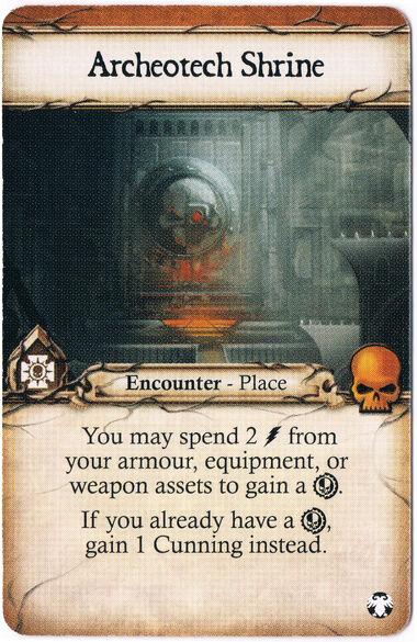 Archeotech Shrine