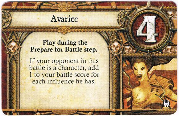 Avarice (1)