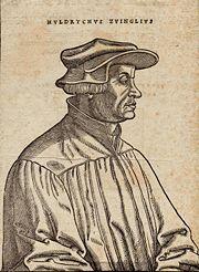 Ulrich Zwingli by Hans Asper 1531