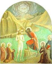 Fra Angelico - Baptism of Christ