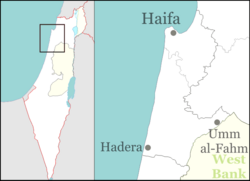 Israel outline haifa