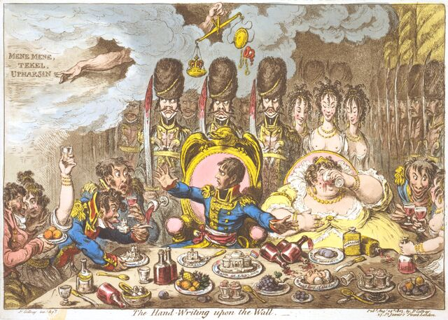 File:Hand-Writing-upon-the-Wall-Gillray.jpg
