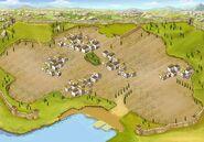 Background dry-moist city level-1