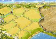 Background dry-moist estate level 3