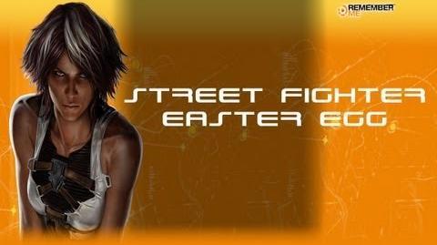 Remember Me - Street Fighter Easter Egg