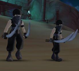 Black Sandstorm Thief