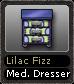 Lilac Fizz Med. Dresser