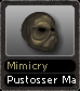 Mimicry Pustosser Mask