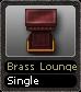 Brass Lounge Single