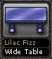 Lilac Fizz Wide Table