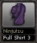 Ninjutsu Full Shirt 3