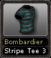 Bombardier Stripe Tee 3