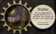 Mimics of Hatchwood Wilds Hexaboar