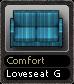 Comfort Loveseat G