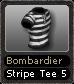 Bombardier Stripe Tee 5