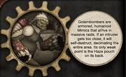 Boss Mimics Golembomber