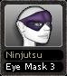 Ninjutsu Eye Mask 3