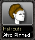 Haircuts Afro Pinned