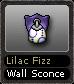 Lilac Fizz Wall Sconce