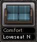 Comfort Loveseat N
