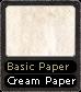 Basic Paper Cream Paper