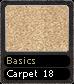 Basics Carpet 18
