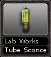 Lab Works Tube Sconce