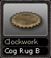 Clockwork Cog Rug B