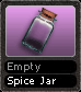 Empty Spice Jar