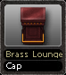 Brass Lounge Cap
