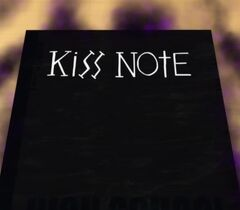 Notebook of kiss