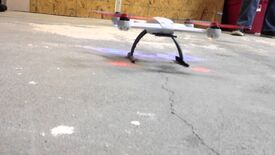 Behind the Scenes Quad-Copter Test 1