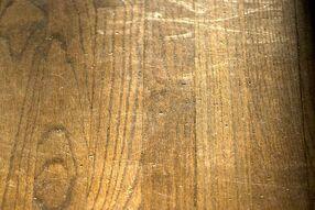 how to fix warped hardwood floor heavy object