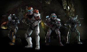 Delta Squad lineup