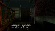 Resident Evil CODE Veronica - passage in front of prisoner building - examines 01-1