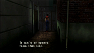 Resident Evil CODE Veronica - passage in front of prisoner building - examines 04-2